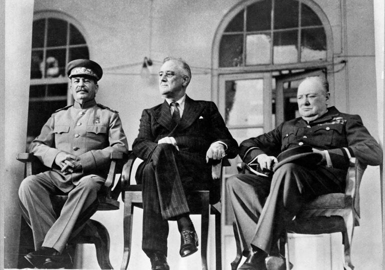 Τα Δωδεκάνησα στην Τουρκία από τον Τσώρτσιλ. Συνδιάσκεψη Τεχεράνης, 28 Νοεμβρίου 1943