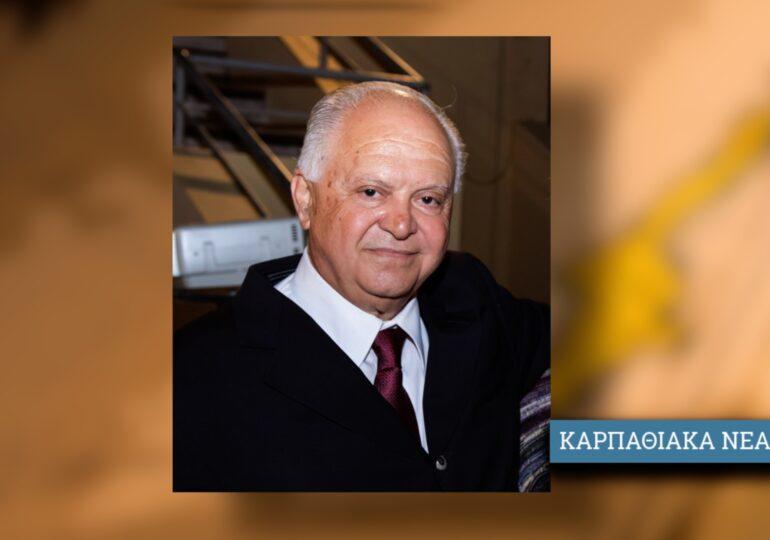 Ιωάννης Θεμ. Νισύριος: Μετατρέπουμε την Κάρπαθο σε Covid-Free πρότυπο