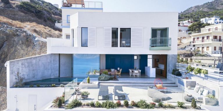 Viewpoint: Ενα σπίτι στην Κάρπαθο με θέα 180 μοιρών