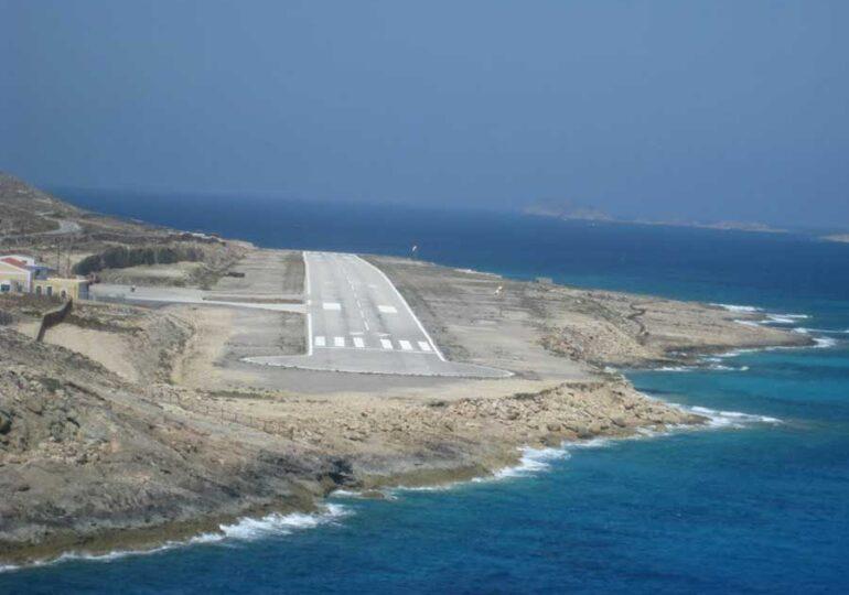 """Το αεροδρόμιο της Ηρωικής Νήσου Κάσου ονομάστηκε """"Μάρκος Μαλλιαράκης""""!"""