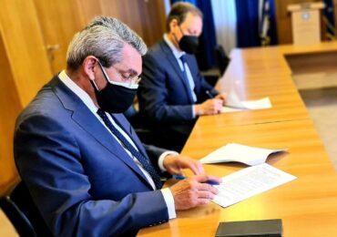 Διαχειριστικά σχέδια βόσκησης και για Κάρπαθο υπεγράφησαν μεταξύ του Υπουργού Αγροτικής Ανάπτυξης και του Περιφερειάρχη