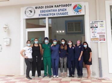 Με απόλυτη επιτυχία ολοκληρώθηκε το πρόγραμμα στειρώσεων στην Κάρπαθο!
