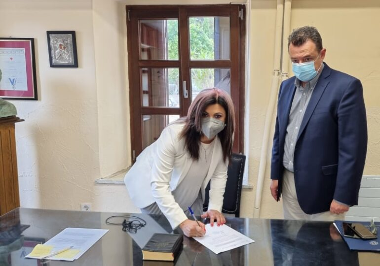 Η Κατερίνα Εμμανουήλ ορκίστηκε διοικήτρια στο Νοσοκομείο Καλύμνου