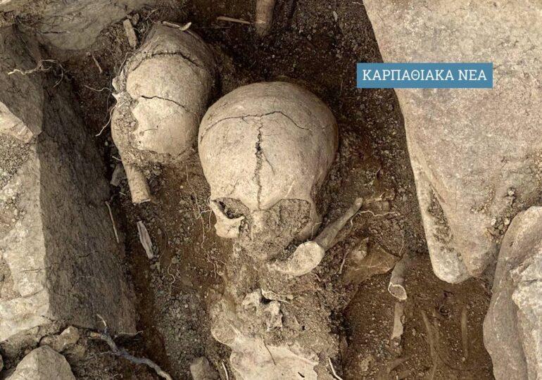 Τάφοι του 5ου π.χ. αιώνα βρέθηκαν στο Απέρι! Η Αρχαιολόγος Βασ. Πατσιαδά εξηγεί τα ευρήματα (Αποκλειστικές εικόνες)