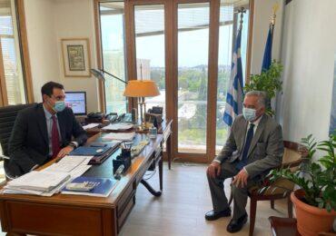 Συνάντηση του Βασίλη Α. Υψηλάντη με τον Υφυπ. για την Οικονομική Διπλωματία και την εξωστρέφεια Κώστα Φραγκογιάννη