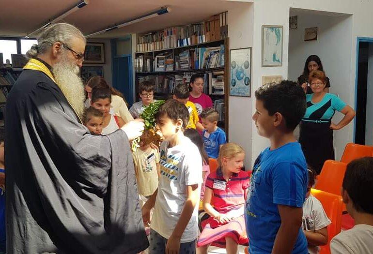 Κάρπαθος. Στις Πυλές έγινε αγιασμός κι άρχισαν τα μαθήματα σε ένα διαφορετικό σχολείο!