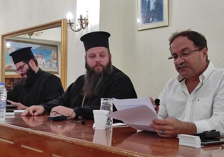 Η εκδήλωση στο εκκλησιαστικό μέγαρο Πηγαδίων στο ΘΑΡΡΙ TV! Ο Μανώλης Σοφίλλας παρουσιάζει το βιβλίο του (VIDEO)