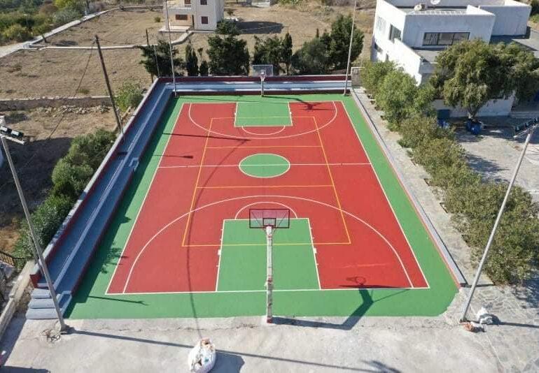 Εγκαίνια στο γήπεδο μπάσκετ Πυλών!
